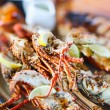 Grilled seafood platter — Stock Photo #22110047