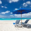 Beautiful Caribbean beach - Foto Stock