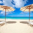 Beautiful Caribbean beach — Stock Photo #22455335