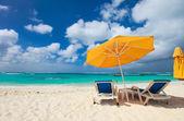 Hermosa playa del caribe — Foto de Stock
