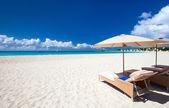 όμορφη παραλία της καραϊβικής — Φωτογραφία Αρχείου