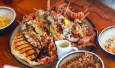 на гриле морепродуктами — Стоковое фото