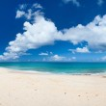 Panorama of a beautiful Caribbean beach — Stock Photo #22788794
