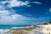 Güzel st martin karayip kıyılarında — Stok fotoğraf