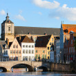 Bruges city in Belgium — Stock Photo