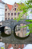 Bruges city in Belgium — Stock Photo