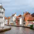 Bruges city in Belgium - Stock Photo
