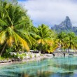 Bora Bora panorama — Stock Photo
