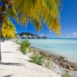 Stock Photo: Stunning beach on Bora Bora