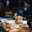 Fresh bread at market — Stock Photo