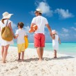 Family beach vacation — Stock Photo #30702649