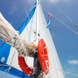 Stock Photo: Sailing boat