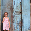 Stock Photo: Little girl portrait outdoors