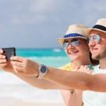 Couple on vacation — Stock Photo