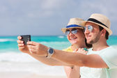 Couple on vacation — Stock Photo