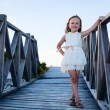 Stock Photo: Adorable little girl outdoors