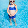 Little girl at swimming pool — Stock Photo #35071169