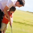 Teaching Golf — Stock Photo #3587027