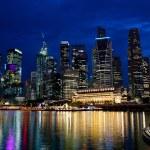 Night Singapore — Stock Photo #3587221