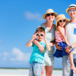 Family vacation portrait — Stock Photo #39582193