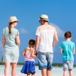 Family walking at beach — Stock Photo #39582201