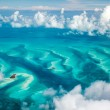 Stock Photo: Bahamas aerial