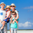 Family on summer vacation — Stock Photo