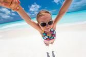 Kleines Mädchen Spaß — Stockfoto