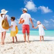 Stock Photo: Family beach vacation