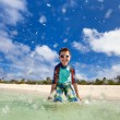 Stock Photo: Little boy on vacation