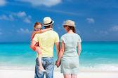Family beach vacation — Stock fotografie