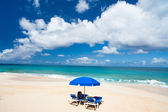 Beautiful Caribbean beach — Stock Photo