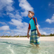 Little boy on vacation — Stock Photo