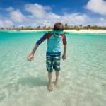 Little boy on vacation — Stock Photo