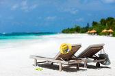 Férias de praia tropical — Fotografia Stock
