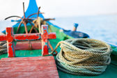 Close up of a fishing boat — Stock Photo