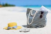 Férias na praia — Fotografia Stock