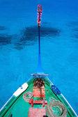 Traditional maldivian boat dhoni — Stock Photo