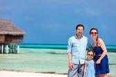 Family on summer vacation — Stock Photo