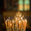 Candles in Church — Stockfoto #4696778