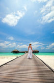 Girl on vacation  — Stock Photo