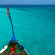 Traditional maldivian boat dhoni — Stock Photo #47271741