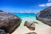Spring bay at Virgin Gorda, BVI — Stock Photo
