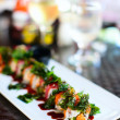Japanese cuisine sushi rolls — Stock Photo