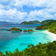Trunk Bay auf St. Johannes Insel, US Virgin Islands — Stockfoto #49869495