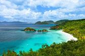 Trunk bay auf st. johannes insel, us virgin islands — Stockfoto