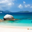 Picture perfect beach at Caribbean — Stock Photo #50235725