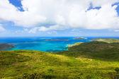 Tropical coast aerial — Foto Stock