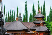 Balinese temple roof — Stock Photo