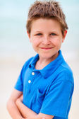 Boy outdoors — Stock Photo